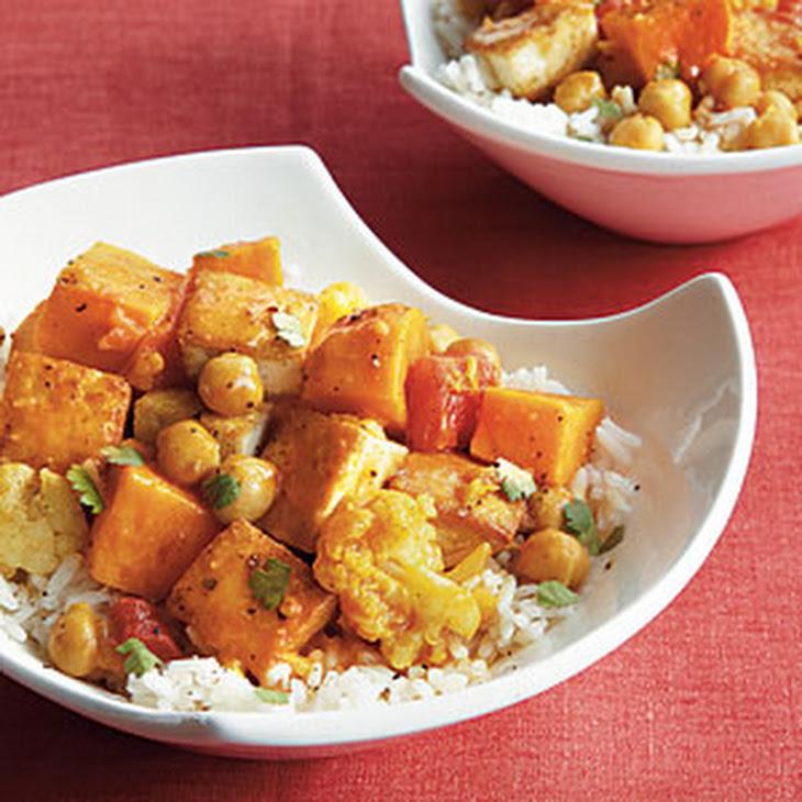Curried Cauliflower, Chickpeas, And Tofu Recipes — Dishmaps