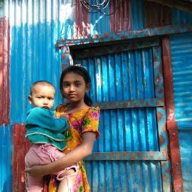 secured!  by Suman Malakar - Babies & Children Child Portraits