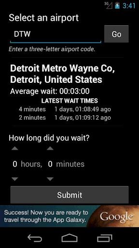 Airport Security Timer screenshot 1