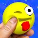 Squishy emoji smile kawaii antistress ball