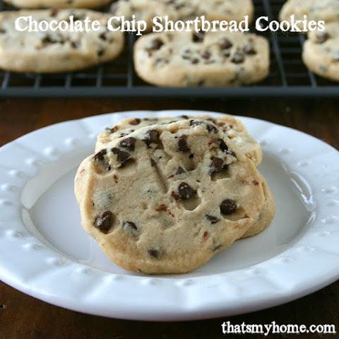 Mini Chocolate Chip Shortbread Recipes | Yummly