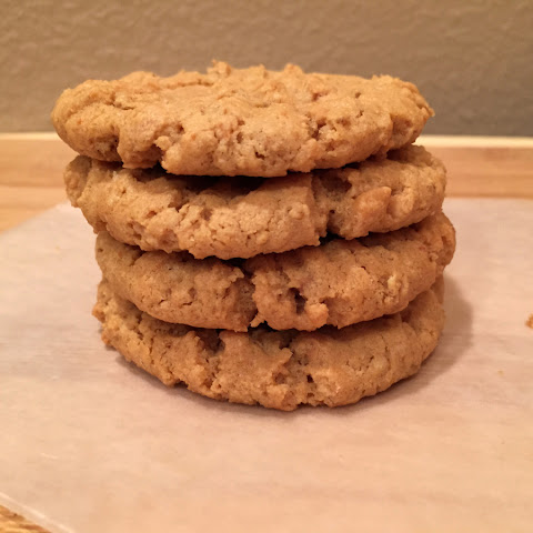 Peanut Butter Cookies – Vegan and Gluten-free