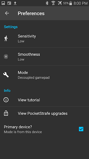 PocketStrafe For PC