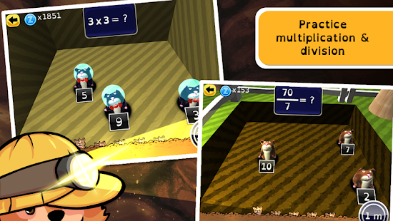 Zcooly Mine - Multiplication - screenshot