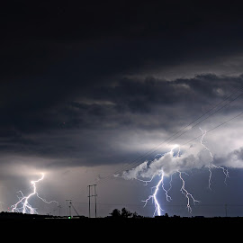 Strikes by Cobus van Zyl - Landscapes Weather ( lightning, storm, thunderstorm, thunder, storms )