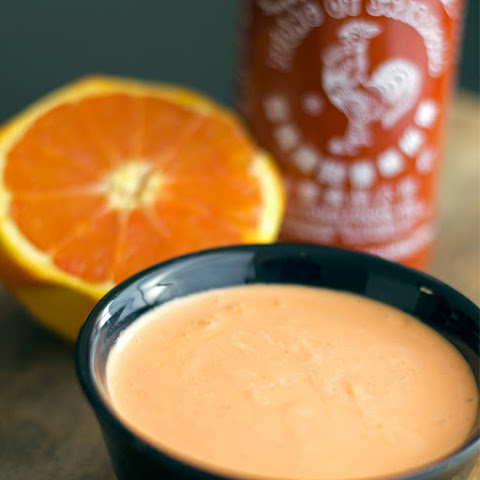 Orange Sriracha Mayonnaise