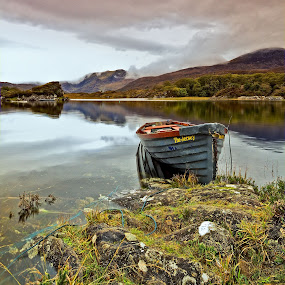 The Jersey by Brens Photo's - Landscapes Mountains & Hills ( lough leanne, killarney, tones, co kerry, boat )