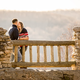 Coopers Rock by Craig Gunter - People Couples