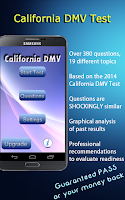 Screenshot of California DMV Test Prep 2015