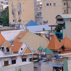 Roofs by Beh Heng Long - Buildings & Architecture Architectural Detail ( building )