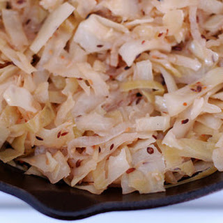 Indian-Spiced Braised Cabbage