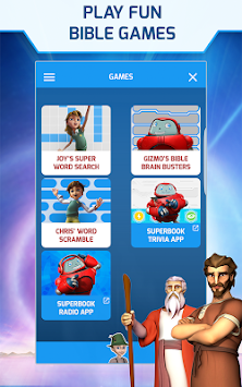 Superbook Bible, Video & Games APK screenshot thumbnail 23
