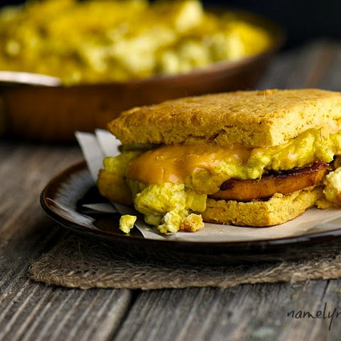 Sweet Potato Biscuit Sandwich