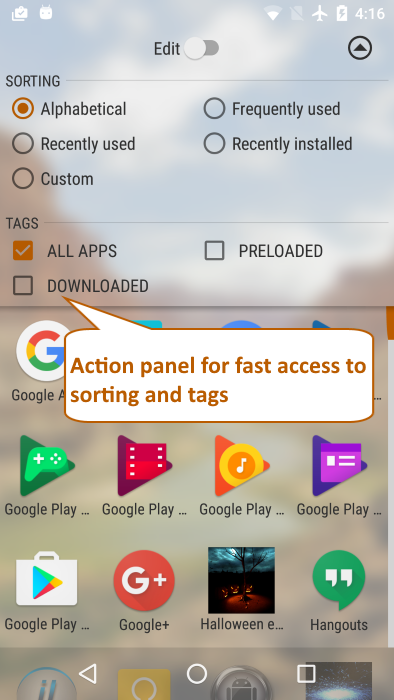 Launcher++ (Lpp) Screenshot 4