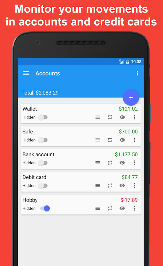 Fast Budget - Expense Manager Screenshot 5
