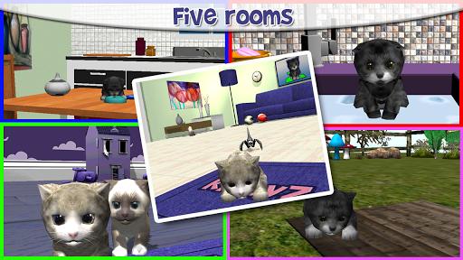 KittyZ virtual pet cat care - screenshot