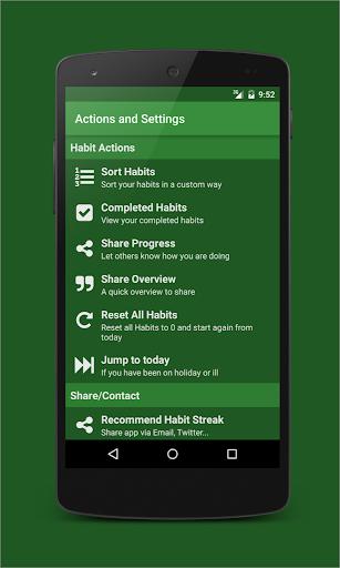 Habit Streak Pro - screenshot