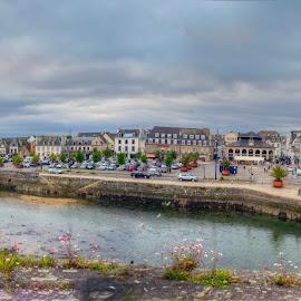 Concarneau by Hraunið      Hekla - City,  Street & Park  Vistas ( finistere, france, brittany, concarneau )