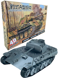 "4D Пазл cерии ""Город Игр"" танк ""Panther"" L"