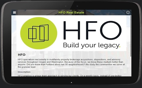 HFO - screenshot