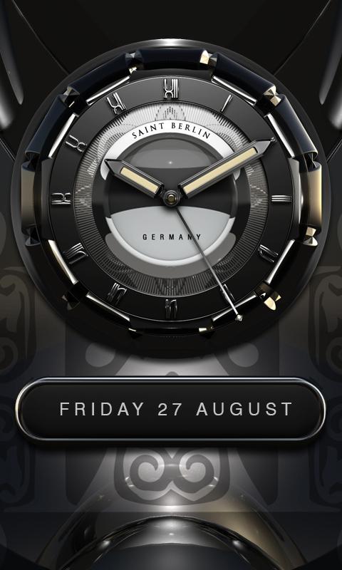 m nchen hd analog clock widget android apps download. Black Bedroom Furniture Sets. Home Design Ideas