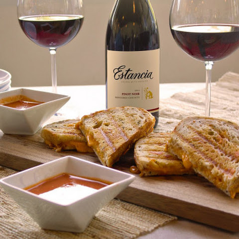 Estancia Wines Grilled Cheese