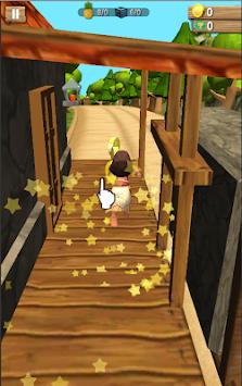 Princess Moa : Jungle Dash 3D Run apk screenshot