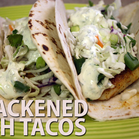 Blackened Fish Tacos