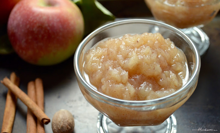 Easy Homemade Chunky Applesauce Recipe | Yummly
