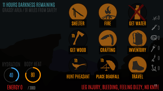 Survive - Wilderness survival APK for Bluestacks
