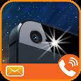 Flash Alert on Call & SMS