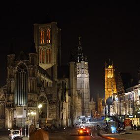 Gent by Meint Woortman - City,  Street & Park  Street Scenes