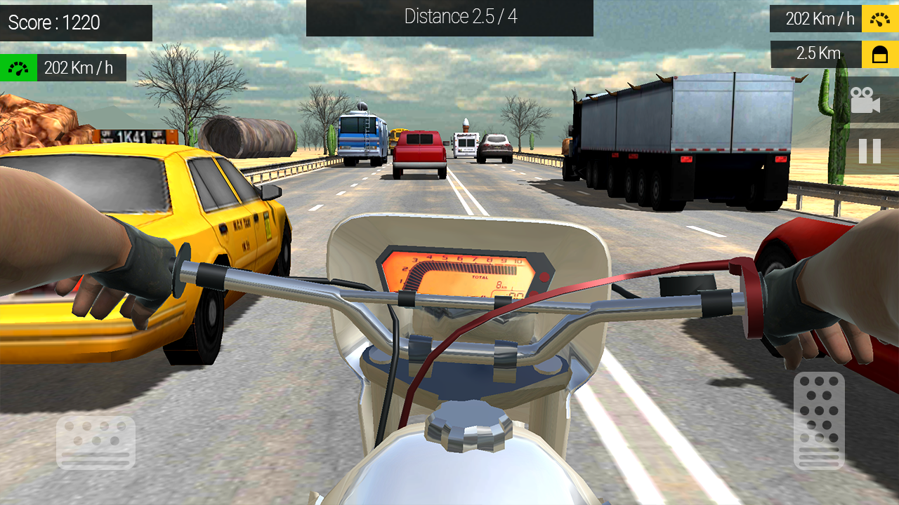 Moto Traffic Rider Screenshot 3