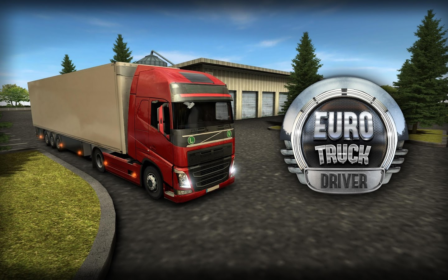 Euro Truck Driver (Simulator) Screenshot