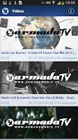 Screenshot of Armada Music