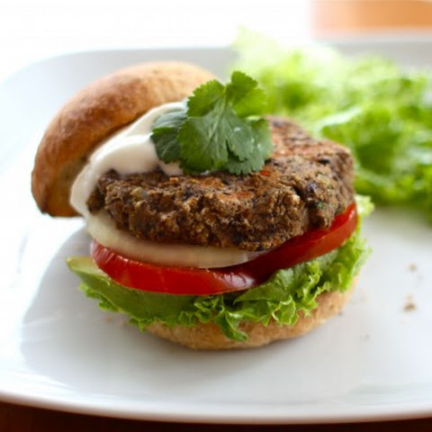 Mexican Style Black Bean Burgers