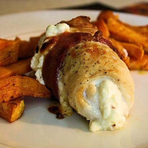 Cream Cheese and Mozzarella Stuffed Chicken