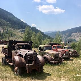 Mountain Rides by Mike Martinez - Transportation Automobiles