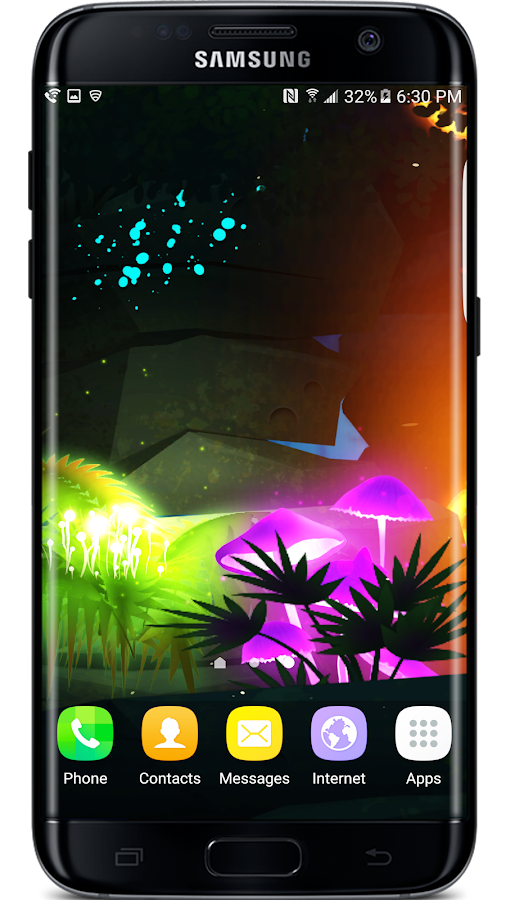 Firefly Jungle Live Wallpaper Screenshot 7