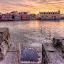 S t a i r s by Manu Heiskanen - Uncategorized All Uncategorized ( clouds, stream, oldtown, stairs, ice, rock, cityscape, sunrise, rocks, paulinawolekpardon, city )
