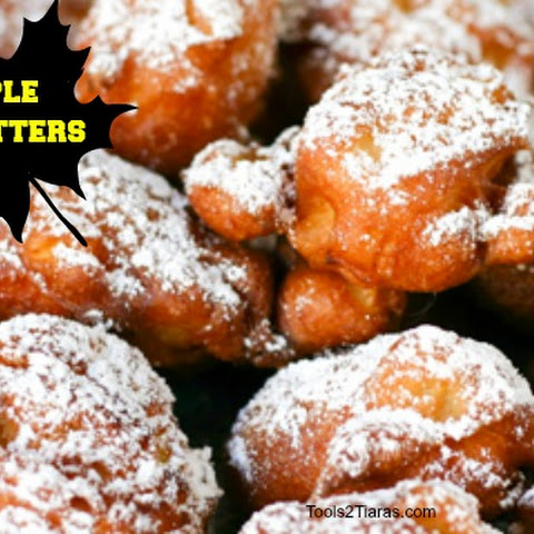 Apple Fritters For #FallFun31