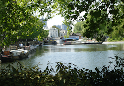 Little Venice Pool from Rembrandt Gardens