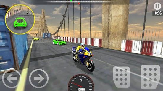 Car vs Bike Racing