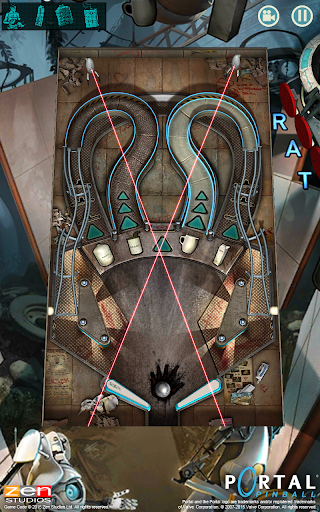 Portal Pinball - screenshot