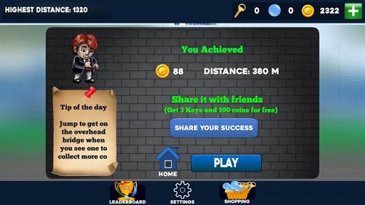 Run Tim Run - screenshot