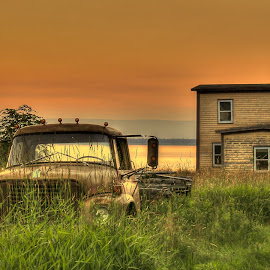 St. George's Sunset by Randy Burt - Landscapes Sunsets & Sunrises ( newfoundland, sunset, beautuful, travel, scenic )