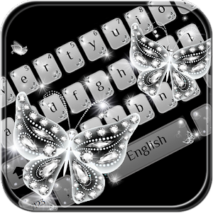 Download Glitter diamond Keyboard Theme For PC Windows and Mac