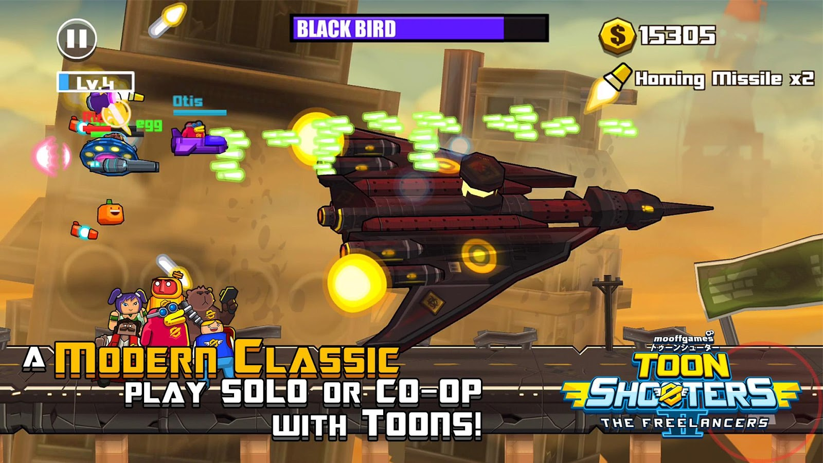 Toon Shooters 2: Freelancers Screenshot 0