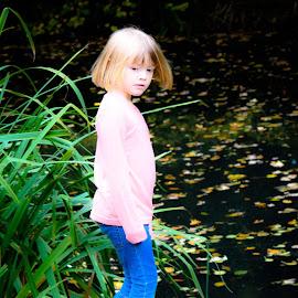 Contemplation by Marina Haigh - Babies & Children Children Candids