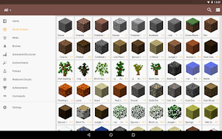 Screenshot of CleverBook for Minecraft